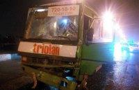 У результаті зіткнення маршруток у Харкові постраждали 11 людей