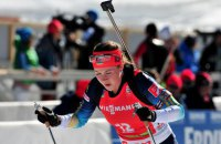 Украинская биатлонистка Джима на этапе Кубка мира завоевала вторую «бронзу» подряд