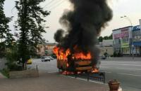 У Броварах вибухнула маршрутка (оновлено)