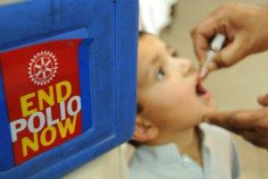 Детей будут вакцинировать от полиомиелита бесплатно