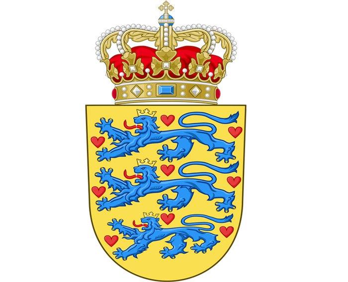 Сучасний герб Королівства Данія