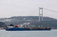 """Суд арештував судно """"Мрія"""", що постачало паливо в Крим"""