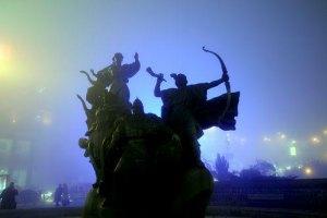 В понедельник в Киеве будет холодно и туманно