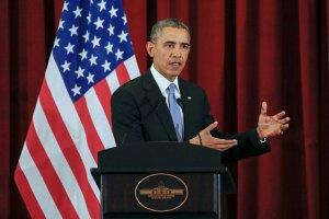 Обама: погіршення позицій сепаратистів підвищує ризики для України