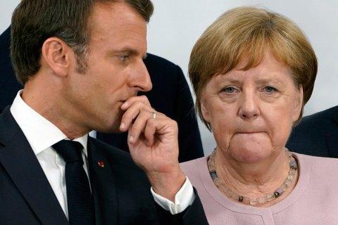 Макрон, Меркель и Джонсон призвали Иран воздержаться от насилия