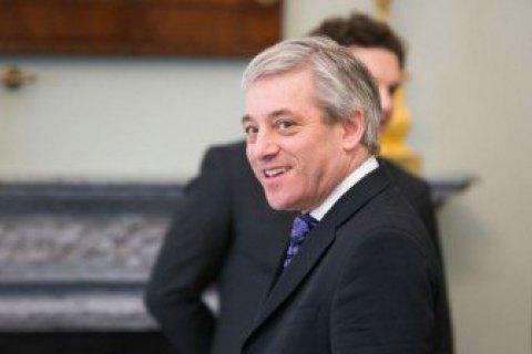 Спікер британської Палати громад оголосив про відставку