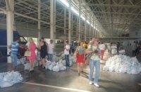 Луганск получил украинскую гуманитарную помощь