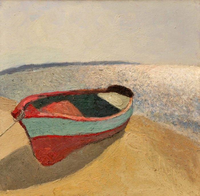 """Юрій Єгоров, """"Човен на лимані"""", 1986"""