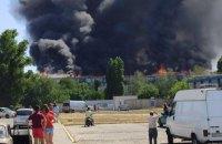 В Новой Каховке произошел пожар в пятиэтажке (обновлено)