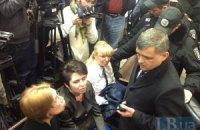 Соратники Тимошенко не смогли помешать допросу свидетеля в суде