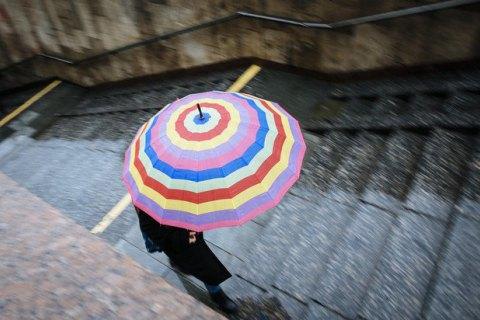 В понедельник в Киеве обещают кратковременный дождь