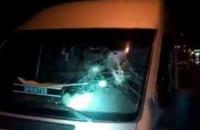 """Вблизи метро """"Теремки"""" в Киеве расстреляли Mercedes Sprinter"""