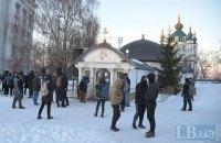 Окружний суд переніс засідання у справі про каплицю УПЦ МП на фундаменті Десятинної церкви
