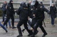 За участие в протестах в Беларуси задержали трех украинцев