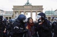У Берліні поліція застосувала силу для розгону акцій проти ковідних обмежень