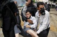 В Египте прошла первая несогласованная акция протеста