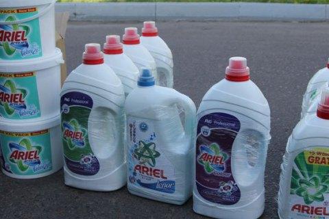 В Луцке нашли подпольное производство товаров Procter & Gamble