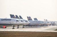 Lufthansa теряет миллион евро каждый час из-за коронавируса