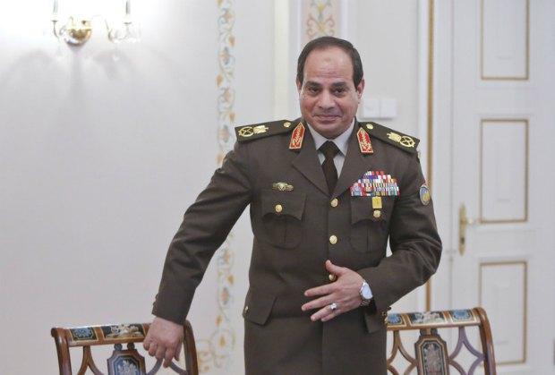 Министр обороны Египта фельдмаршал Абдель-Фаттах аль-Сиси