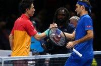 Федерер програв свій стартовий матч Підсумкового турніру АТР