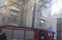 У Львові під час пожежі в житловому будинку вибухнув балон з газом