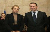 Евгения Тимошенко обсудила дело ее матери с польским министром