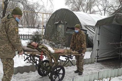 На Донбассе в результате обстрела и подрыва автомобиля погибли двое военных (обновлено)