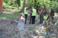 У Протасовому Яру забудовник відновив зрізання дерев (оновлено)