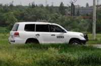 СНБО отрицает стрельбу украинских военных по конвою ОБСЕ