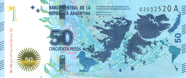 50 аргентинских песо
