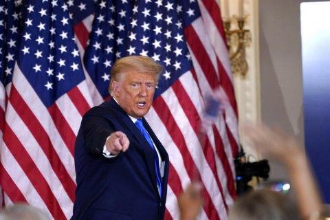 Трамп оголосив надзвичайний стан у Вашингтоні у зв'язку з інавгурацією Байдена