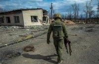 За 1 травня окупанти 12 разів обстрілювали підрозділи Об'єднаних сил, є поранений