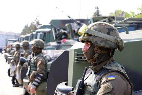 25 тисяч поліцейських і гвардійців залучені до охорони порядку 8-9 травня