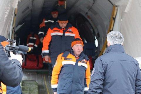 Рятувальники ДСНС повернулися з Ірану