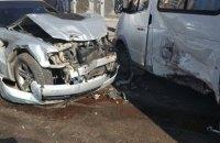 В Одессе столкнулись пять автомобилей