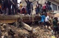 В столице Нигерии обрушилось здание со школой