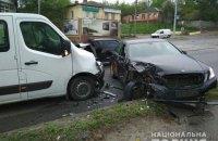 У Харкові чоловік скоїв подвійне ДТП на викраденому авто