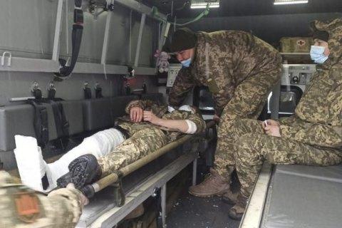 На Донбассе погиб украинский военный, еще двое получили ранения