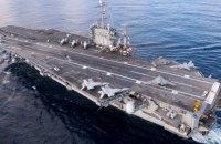 """США намерены оставить авианосец """"Гарри Трумэн"""" в Средиземноморье, - СМИ"""
