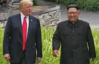 У Білому домі обговорюють нову зустріч Трампа з Кім Чен Ином