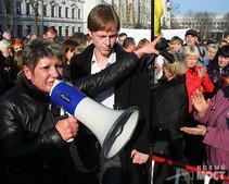 Нынешние выступления предпринимателей - это серьезное предупреждение для власти, - тетя Тимошенко