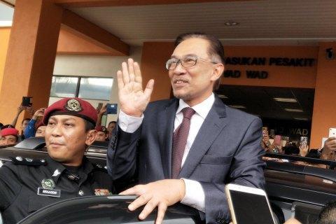 Король Малайзії помилував політв'язня-реформатора