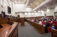 Киевсовет перенес заседание из-за блокирования трибуны