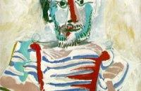 """Картина """"Сидящий человек"""" Пикассо ушла на торгах Сhristie's в Шанхае за 1,55 млн долларов"""