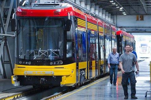 Польская Pesa поставит Киеву еще 40 трамваев