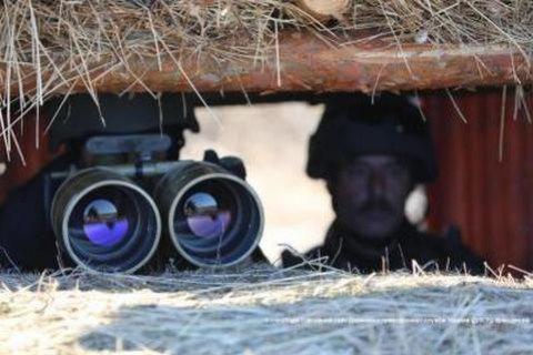 В зоне АТО трое пограничников пострадали от лазерного оружия