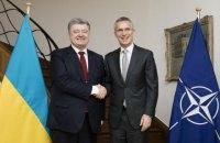 Порошенко и Столтенберг обсудили углубление сотрудничества между Украиной и НАТО