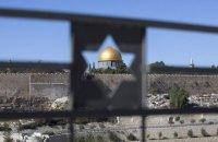 В Єрусалимі авто в'їхало у поліцейський кордон, є поранені