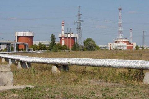 НаЮжно-Украинской АЭС остановили 3-й энергоблок