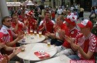 Датчане и португальцы оккупировали центр Львова